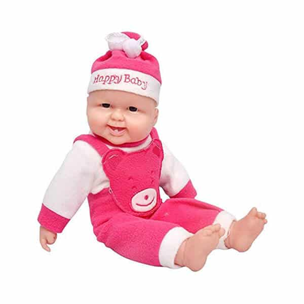 Funny Laughing Sound Boy Doll Pink 2