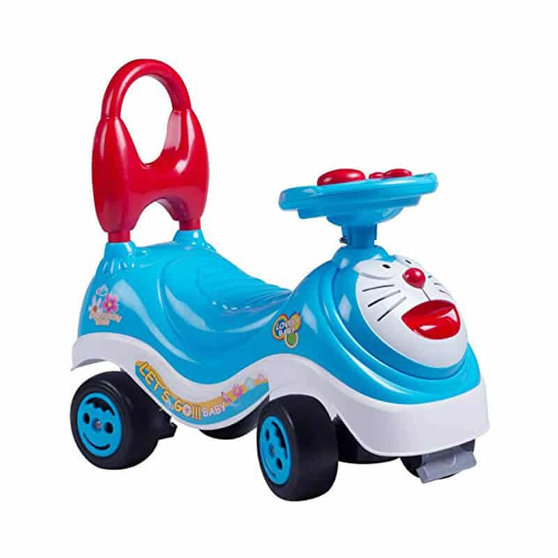 Doraemon Baby Rider Infant to Toddler Rider Scooter Multicolor
