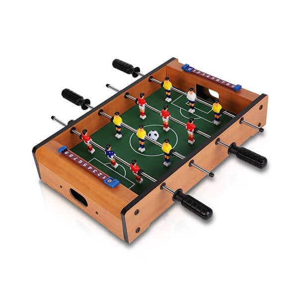 Indoor Foosball Table Football Soccer Game Board Multicolor