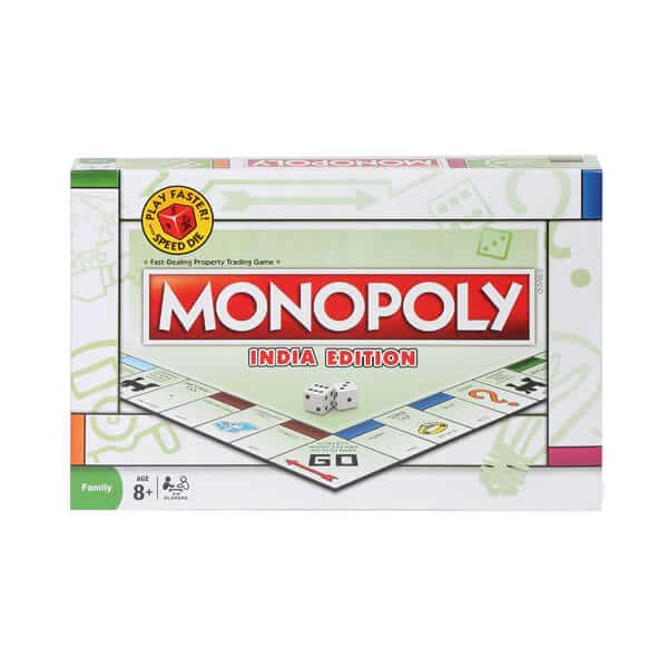 Monopoly India Edition Family Board Game