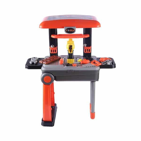 premium tool trolley set for kids