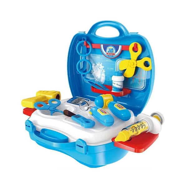 role play briefcase style doctor set toy for kids