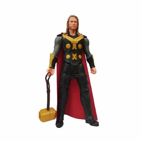 world comic movie super hero legends thor action figure toy with sound and batteries